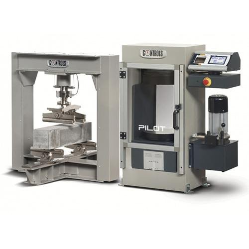 EN 12390-4 automatic compression testers for cubes and cylinders pilot