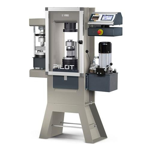 500-600 and 500-600/15 kN cement compression and flexural machines, multipurpose models. PILOT Control System ASTM C109 | ASTM C349 | ASTM C348 | EN 196-1 | EN 13286-41 | EN 933-5