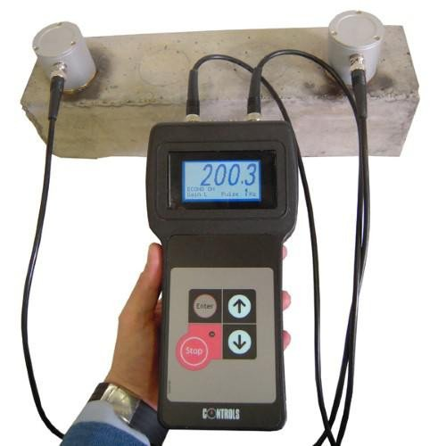 EN 12504-4 | ASTM C597 ultrasonic pulse velocity tester