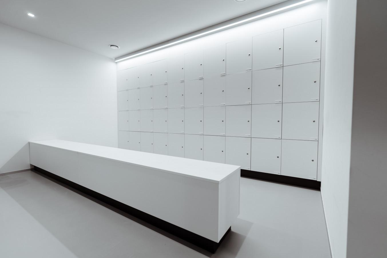 Mobilier de laboratoire: casiers