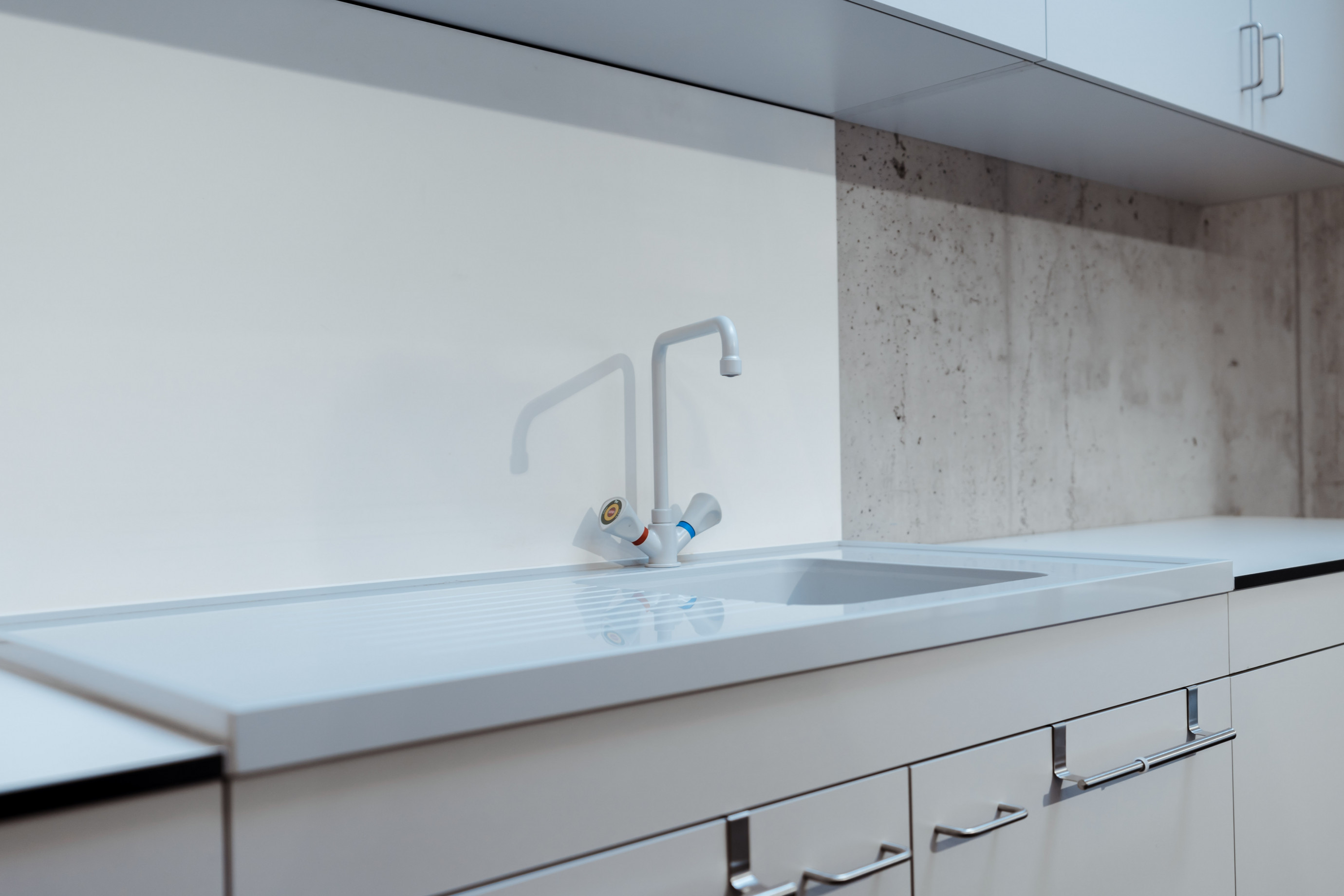 Sink unit with PP worktop