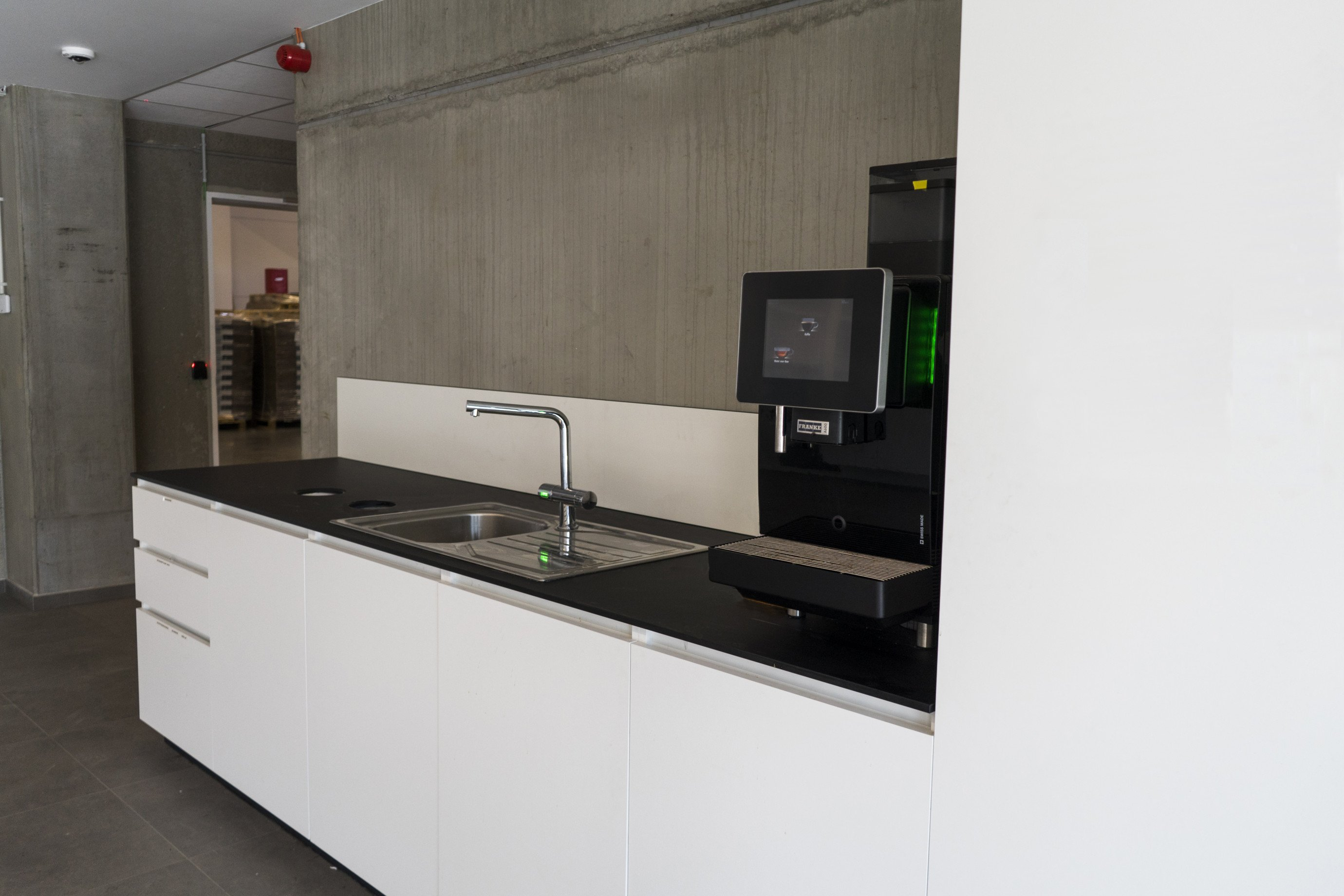 Laboratoriummeubilair: bedrijfskeuken