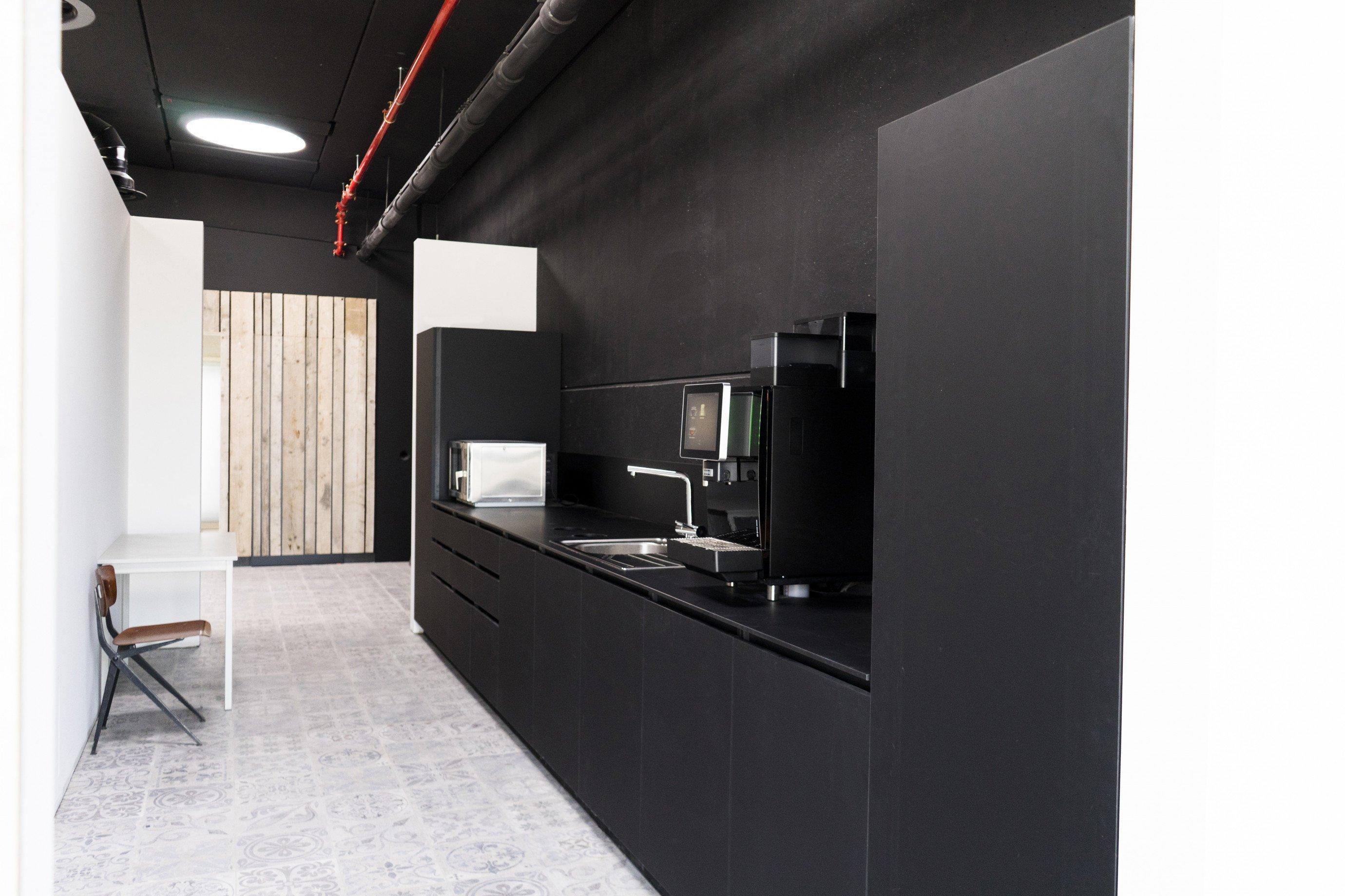 Laboratoriummeubilair: keuken