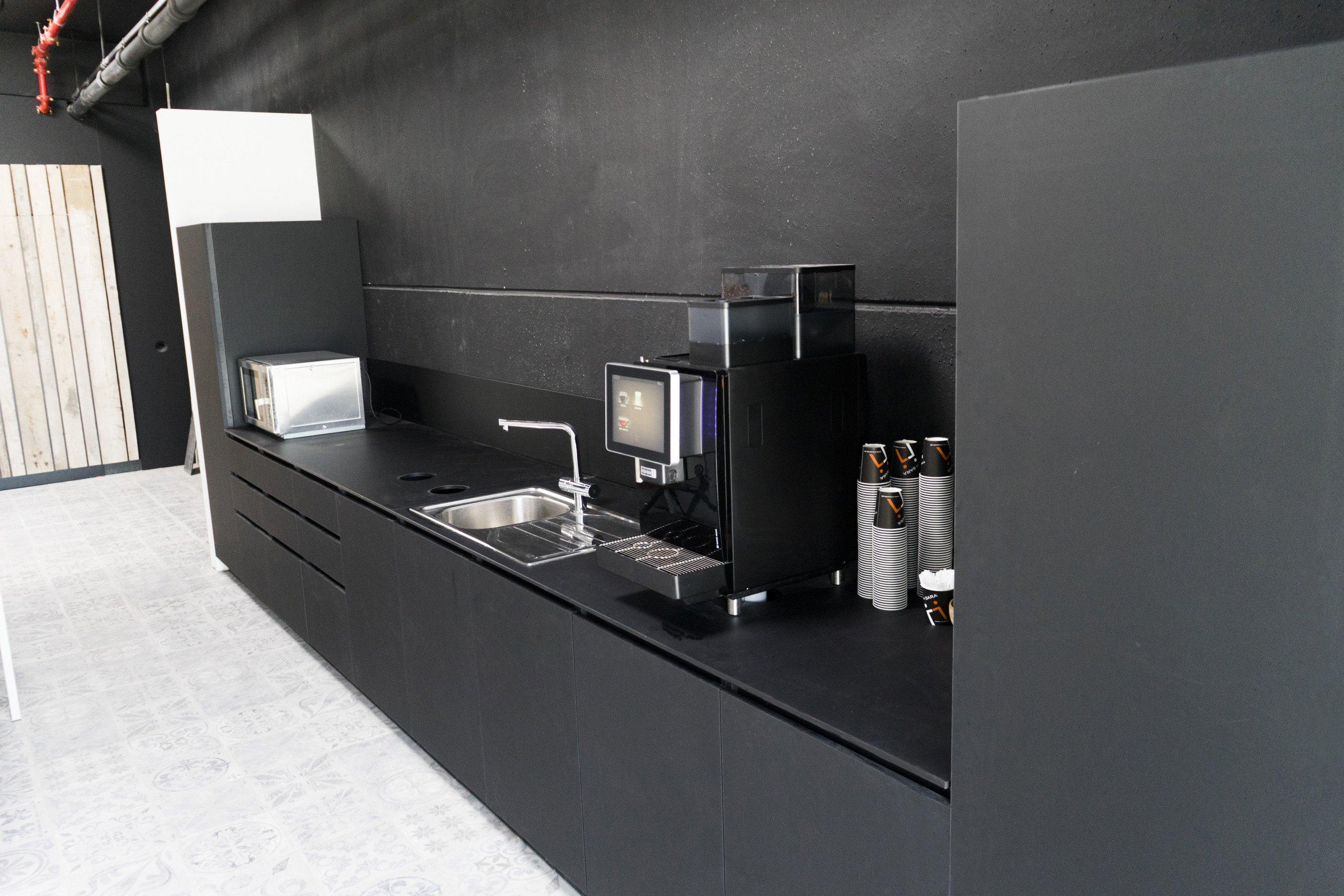 Laboratoriummeubilair: greeploze keuken