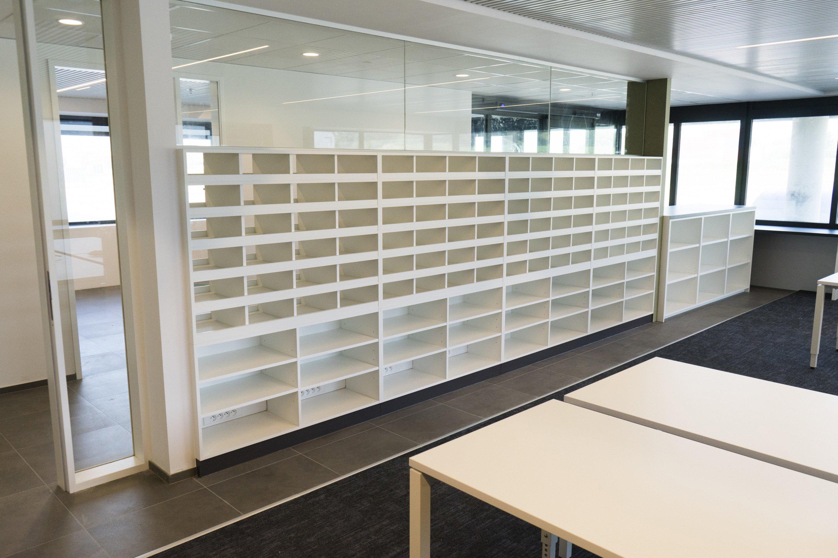 Laboratoriummeubilair: postvakken