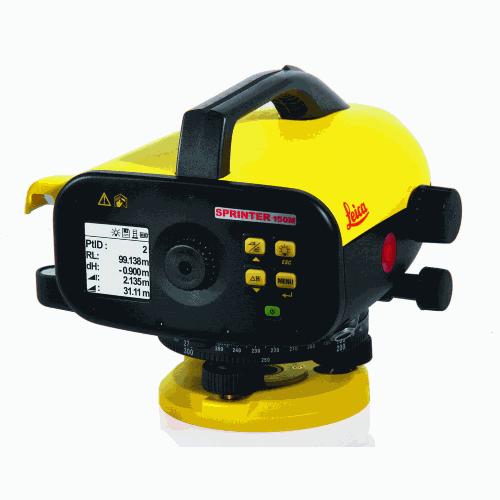 Leica Sprinter 150_1 - Digitaal waterpastoestel Leica Sprinter 150 38 - optische toestellen