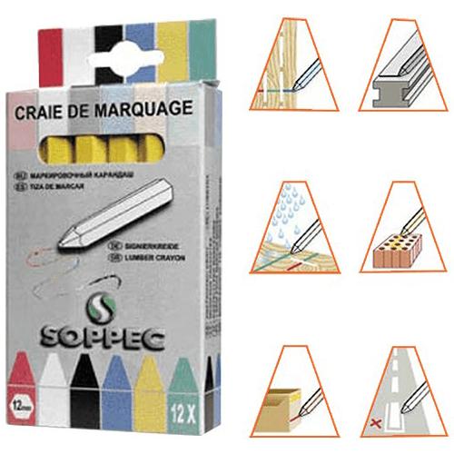 markeerkrijt - Markeerkrijt 55 - klein materiaal