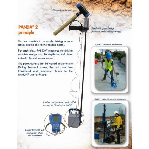 panda sondeerapparaat - Panda sondeerapparaat 58 - klein materiaal