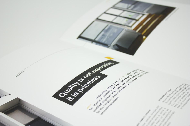 Helioscreen, more than meets the eye  De uitdaging? De markt van screens is een...