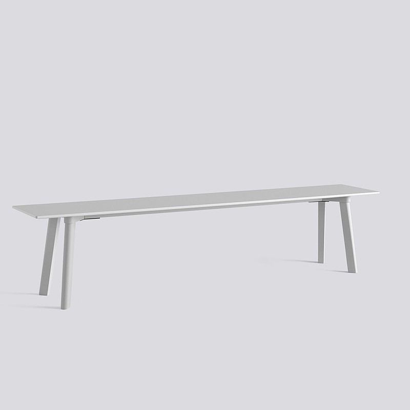 CPH Deux 215 Bench L200xW35xH45 Light Grey-Light grey laminate_HAY_Livingdesign.jpg