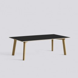 CPH Deux 250 Table L120xW60xH39 Oak Matt Lacquer-black laminate_HAY_Livingdesign.jpg