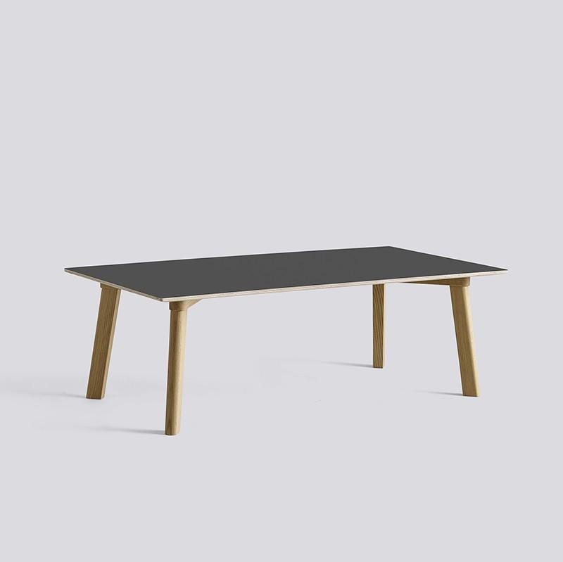 CPH Deux 250 Table L120xW60xH39 Oak Matt Lacquer-dark grey laminate_HAY_Livingdesign.jpg