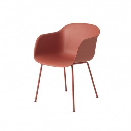 ZZ Fiber_chair_tubebase_dusty_red_front_Muuto-Livingdesign.jpg