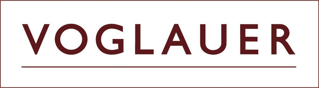 Logo Voglauer - rood op zwart