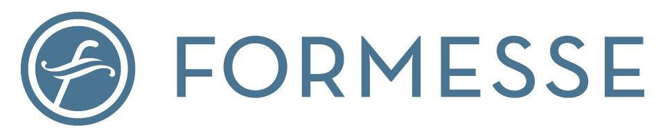 Formesse logo - blauw op wit