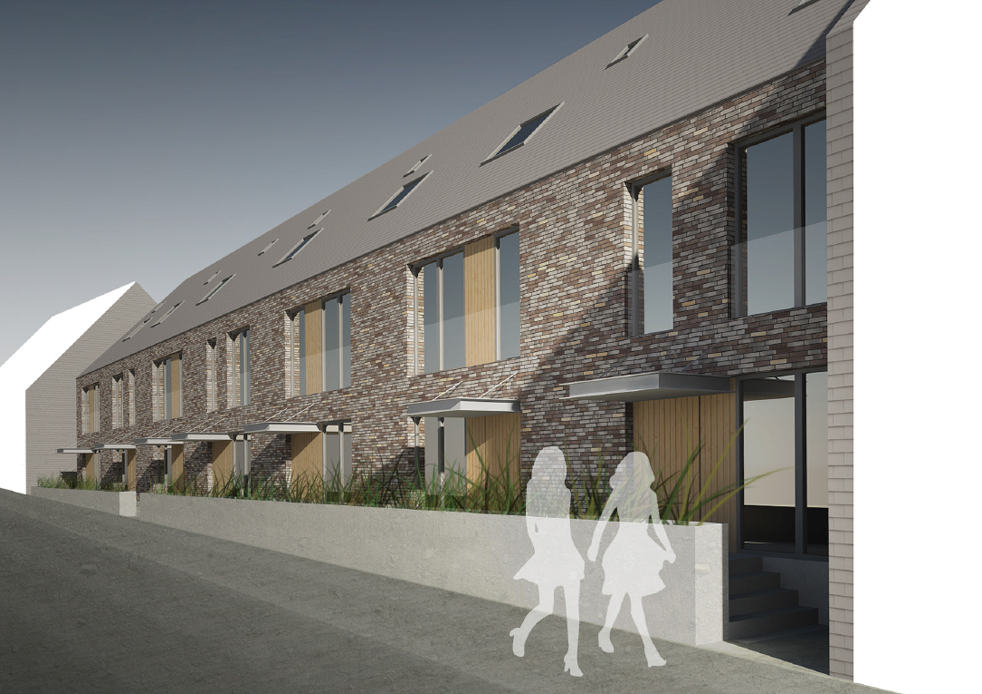 Sociale huisvesting-Rijkswachtkazerne Zonnebeke-Claeys Architecten.jpg