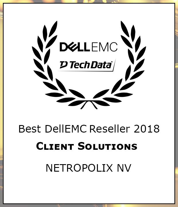 Netropolix wint Dell award 2018