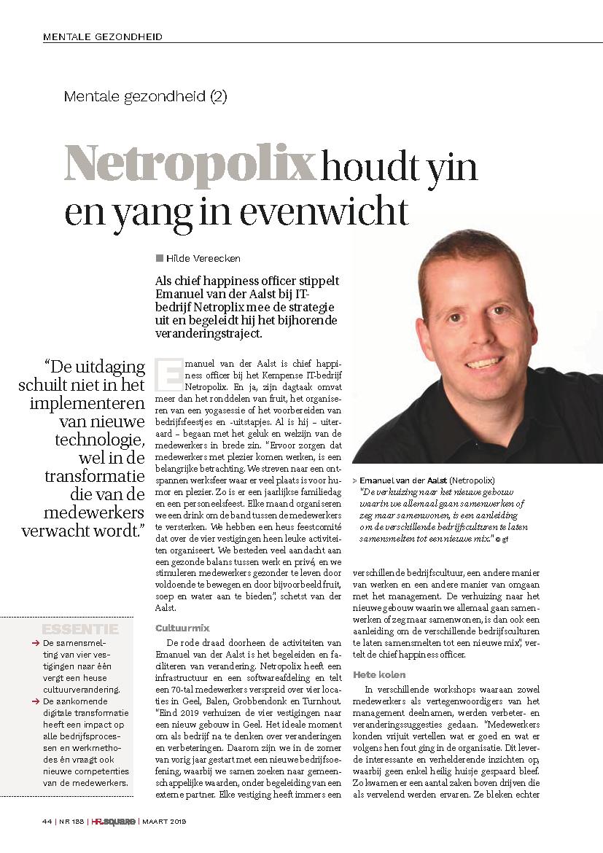 Netropolix HR Square