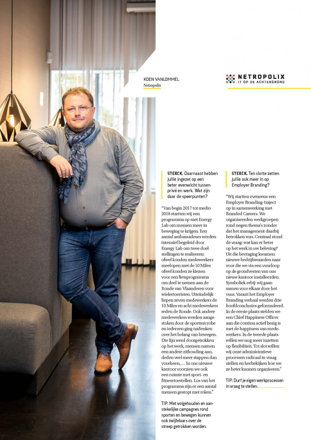 Netropolix in Sterck Magazine