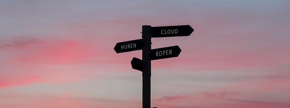 Kiezen voor de cloud of een server