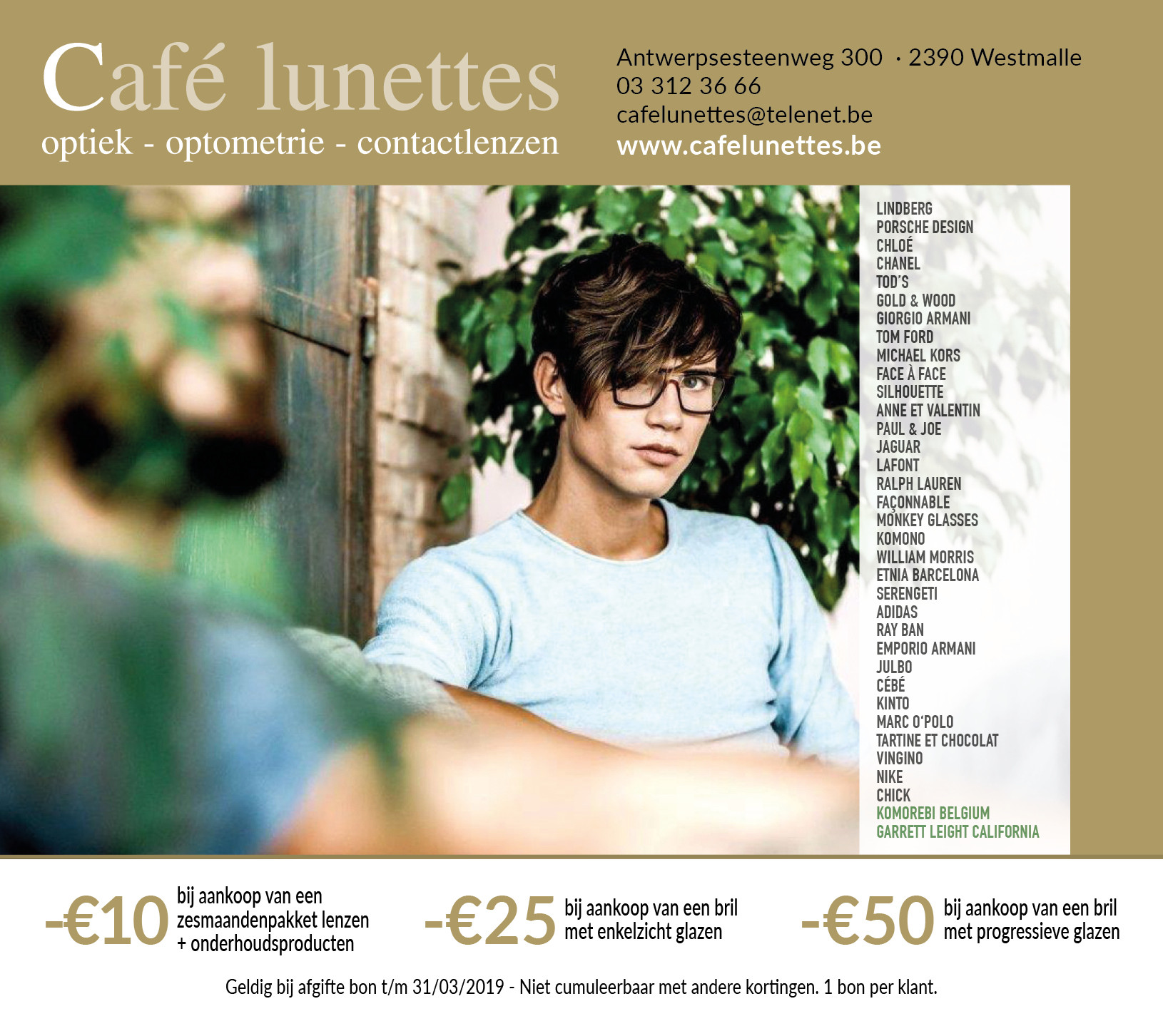 Cafe lunettes