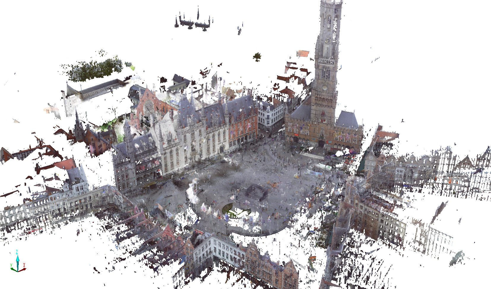 Regional Court, Brugge | 3D animation overview