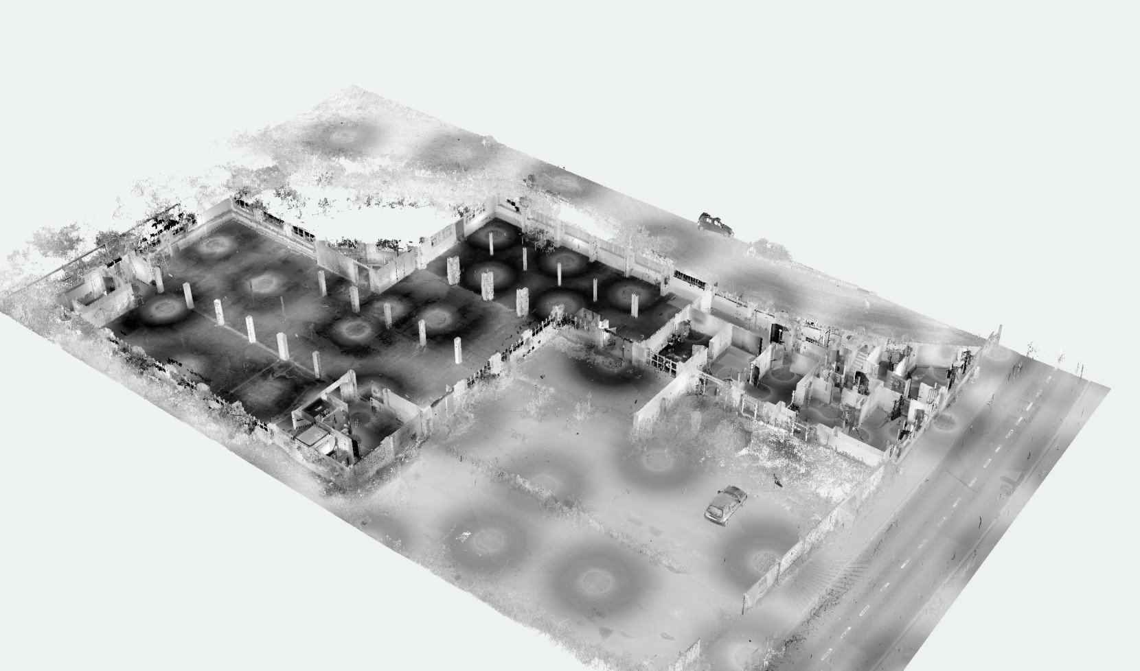 Former factory, Merchtem, Belgium | 3D Animation Overview section