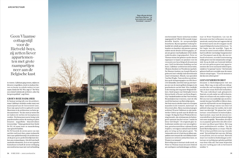 Rietveldprojects villadenil renotaie gent office
