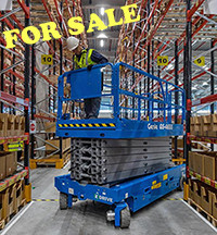 Sale Scissor lift Genie GS4655