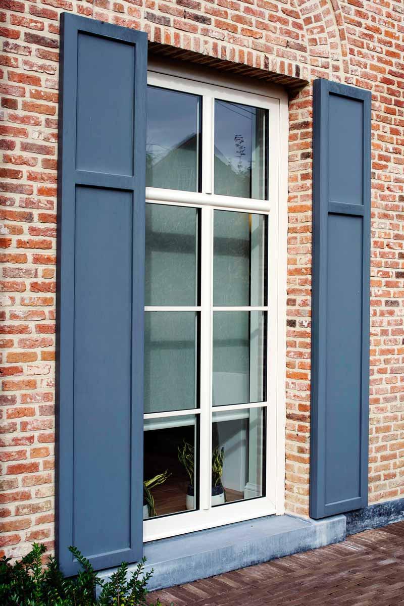 Aluminium ramen & deuren - sierluiken