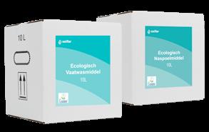 Private label EU Ecolabel vaatwasmiddel in Bag in Box