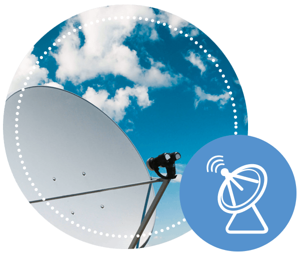 Satellite and Distribution Networks