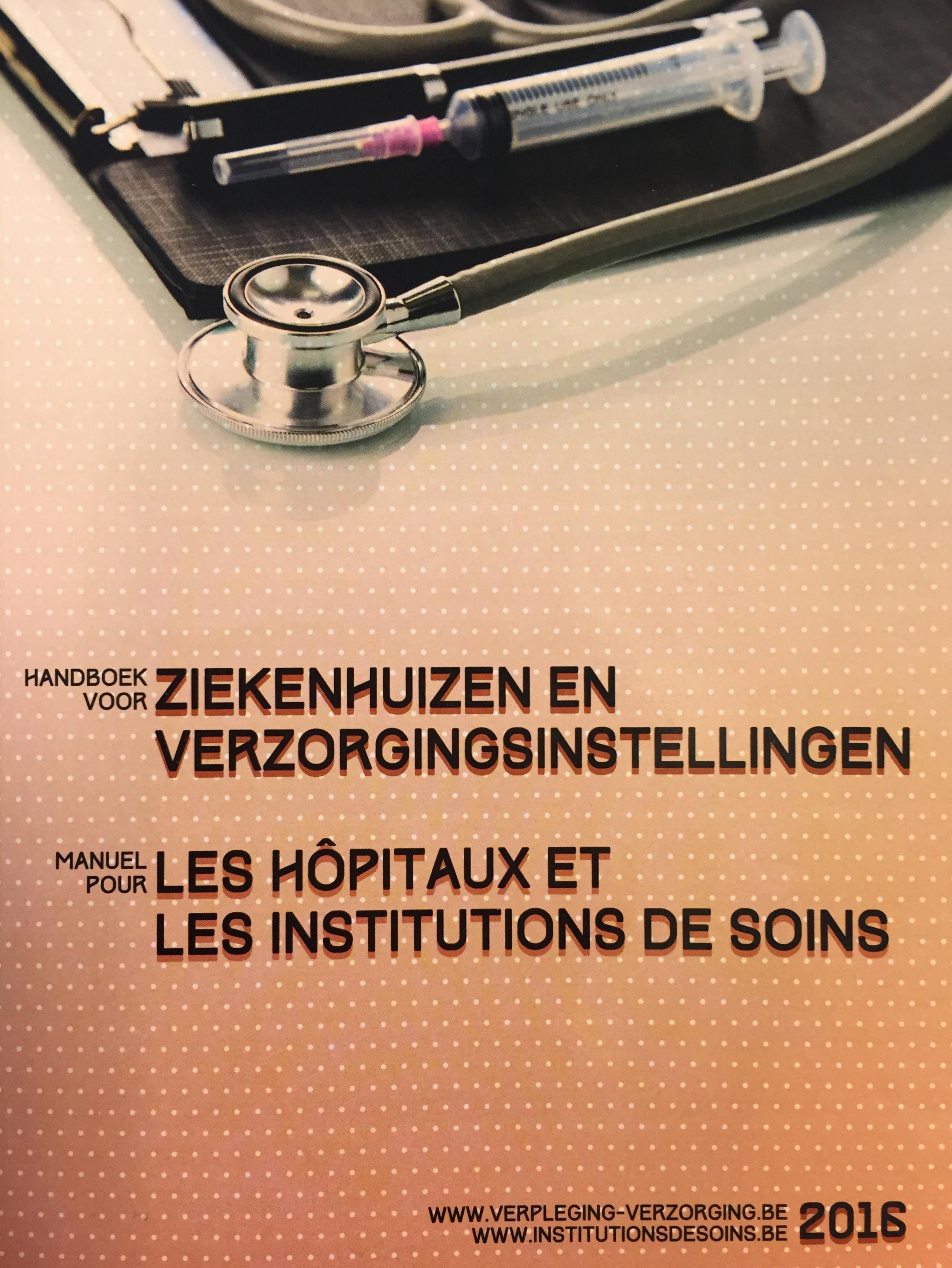 Handboek voor Ziekenhuizen en Verzorgingsinstellingen