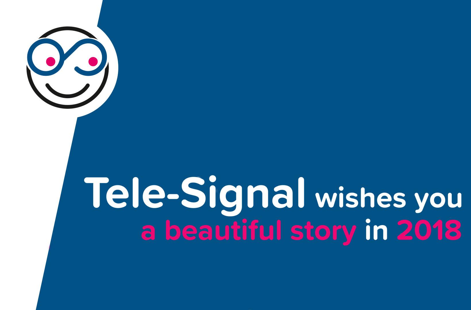 Tele-Signal Electronics wenst jullie een fantastisch en succesvol 2018 !