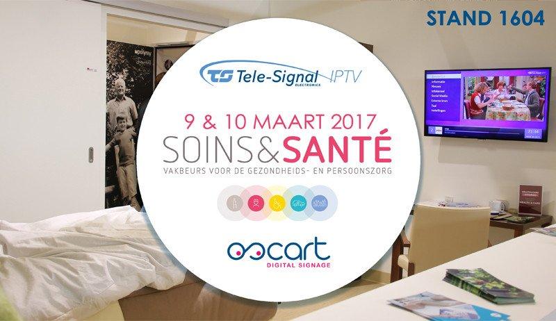Bezoek ons op Soins&Santé!