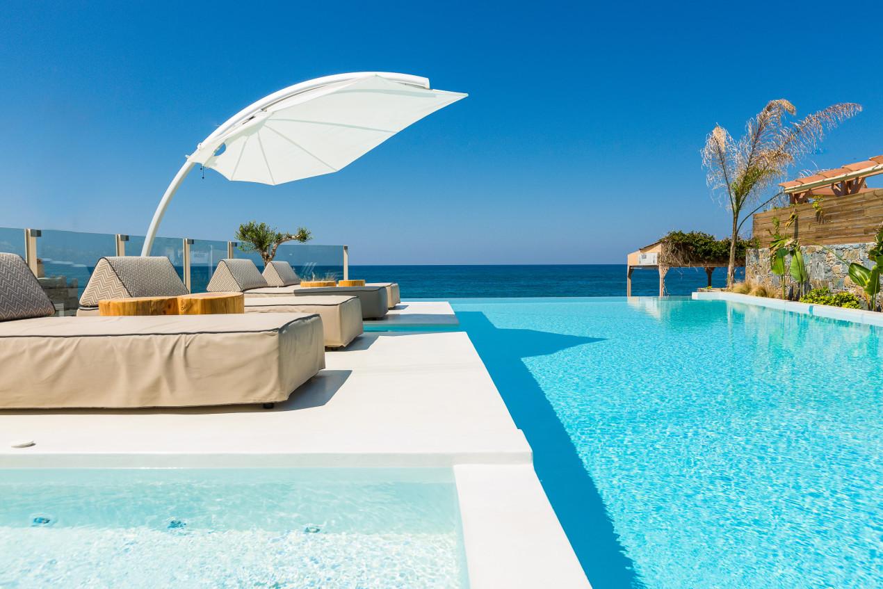 Icarus Design Umbrella Casa di Mare Greece, Solidum Natural