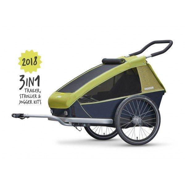 Croozer bike Trailer voor kids
