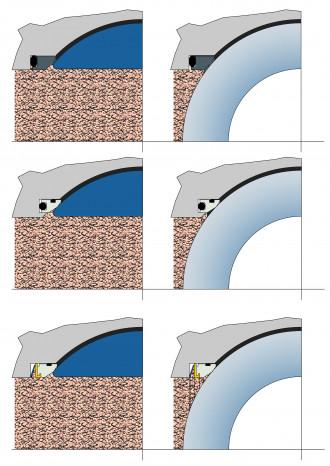 Image ball shutter valves