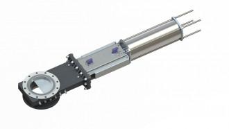 Image knife valve