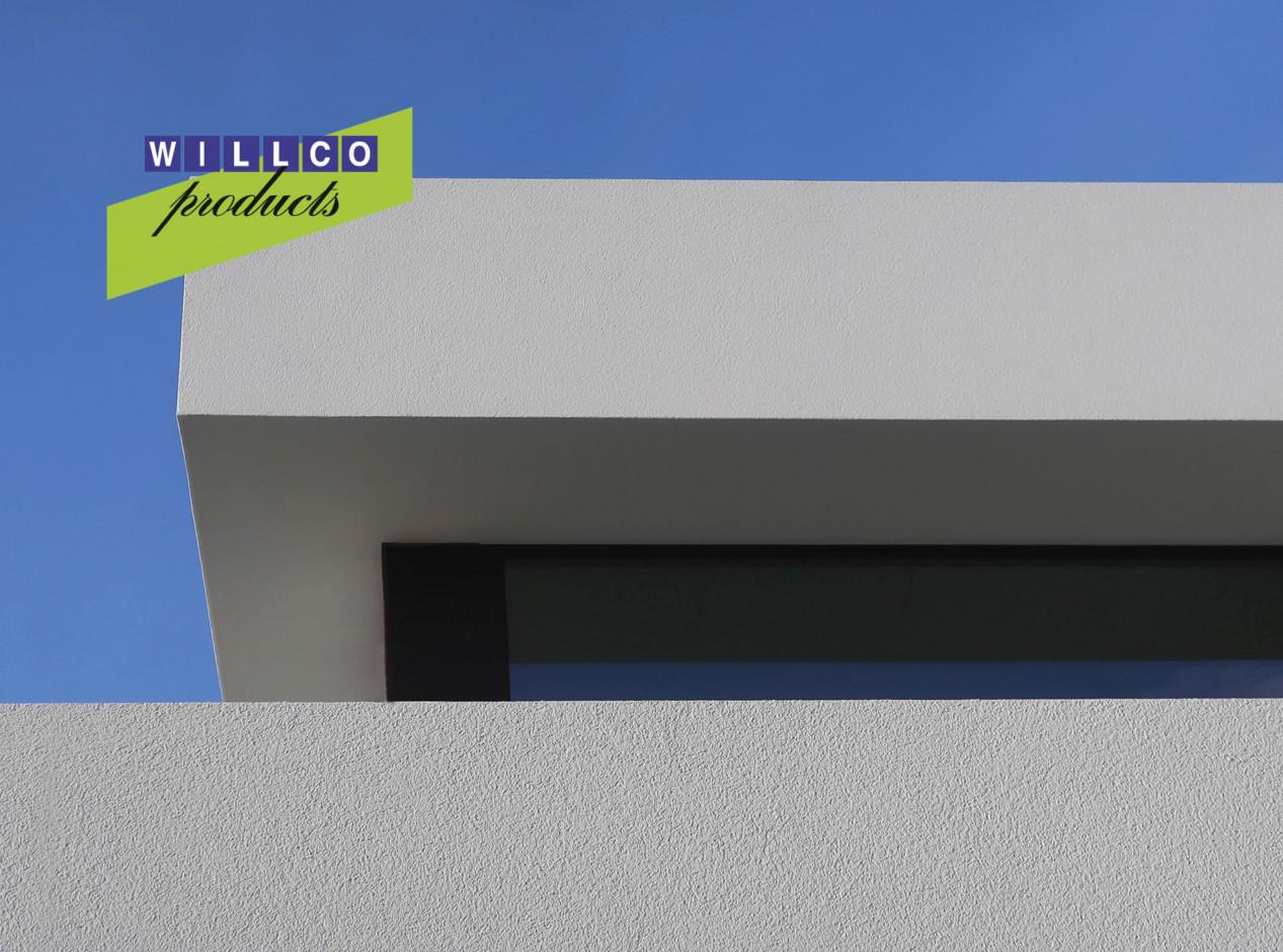 Une façade en crépi ? Terminez votre rive de toit avec un profil invisible ! Willco_202105Blog_2.jpg