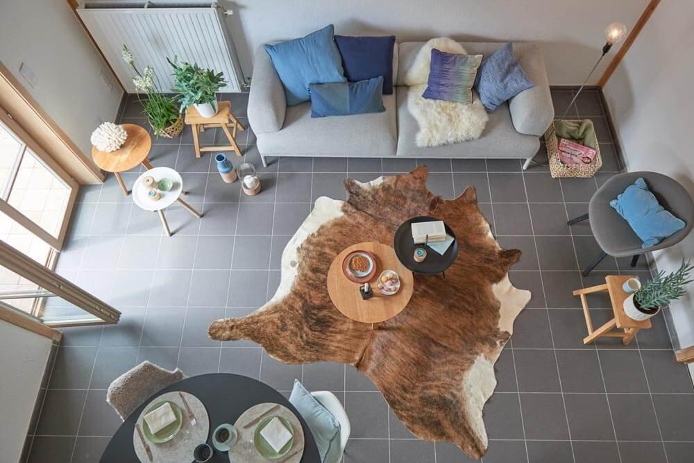 Ruime vakantiewoningen in Oostduinkerke met leuke inrichting.